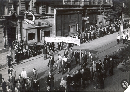 manifestace za svobodu luzice 1945