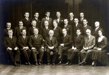 ustředni vybor spolecnosti pratel luzice v letech 1932 - 1933