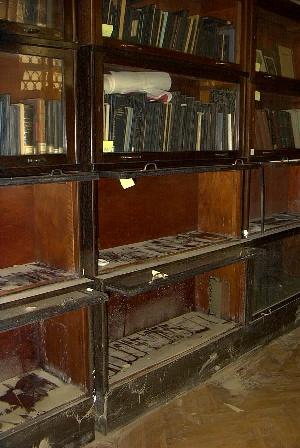 hornikova knihovna zasazena povodni
